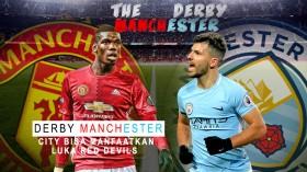 Derby Manchester : City Bisa Manfaatkan Luka The Red Devils