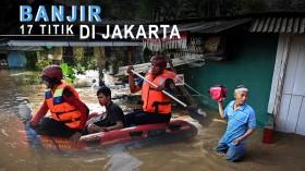Banjir Rendam 17 Titik di Jakarta