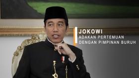 Jokowi Adakan Pertemuan dengan Pimpinan Buruh