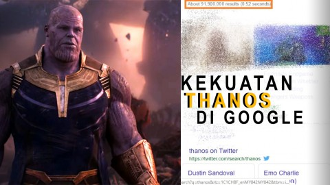 Coba Kekuatan Thanos di Google