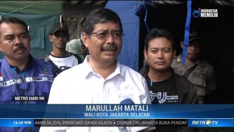 Walkot Jaksel Kunjungi Korban Banjir di Kalibata