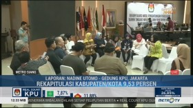 49 Kabupaten/Kota Sudah Selesaikan Rekapitulasi Suara