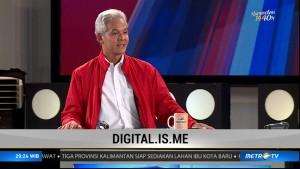 Ganjar Pranowo ajak masyarakat  masuk dunia digital