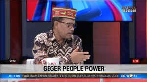 Johnny G. Plate : People Power Tidak Relevan dengan Pemilu Kita