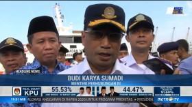 Menhub Gelar Apel Angkutan Laut Lebaran 2019 di Tanjung Priok