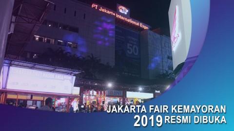 Jakarta Fair Kemayoran 2019 Resmi Dibuka.