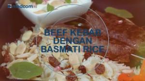 Iftar - Beef Kebab dengan Basmati Rice
