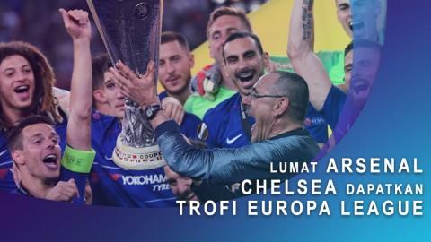 Lumat Arsenal, Chelsea Dapatkan Trofi Europa League.