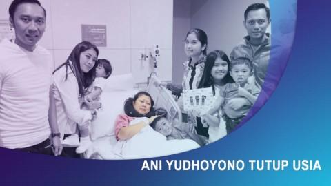 Ani Yudhoyono Meninggal Dunia.