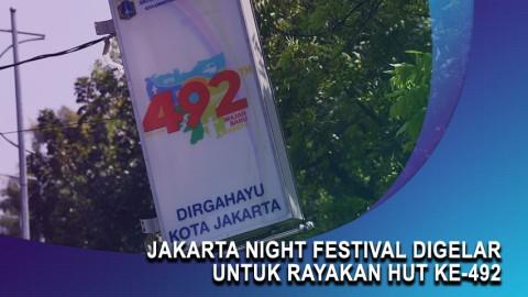 Jakarta Night Festival Digelar untuk Rayakan HUT ke-492