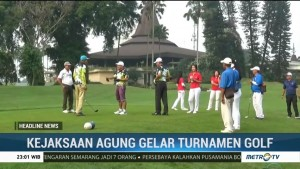 Kejaksaan Agung Gelar Turnamen Golf