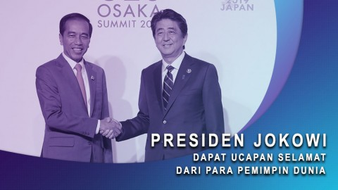 Jokowi Dapat Ucapan Selamat Dari Para Pemimpin Dunia