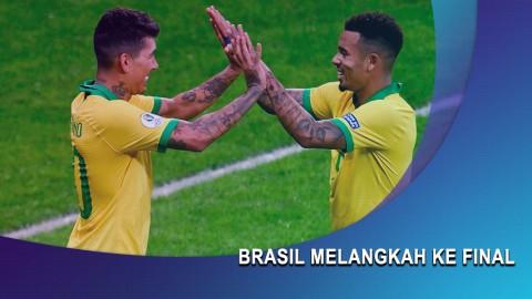 Hajar Argentina, Brasil Melangkah ke Final