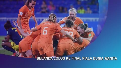 Tundukkan Swedia, Belanda Lolos ke Final Piala Dunia Wanita