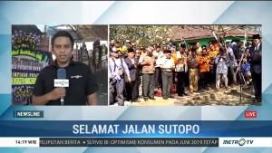 Jenazah Sutopo Dimakamkan Secara Semi Militer