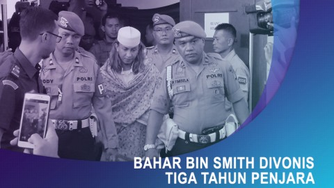 Vonis Bahar bin Smith Lebih Ringan dari Tuntutan Jaksa