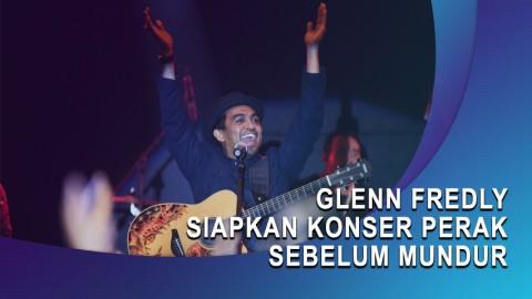 Glenn Fredly Siapkan Konser Perak Sebelum Mundur