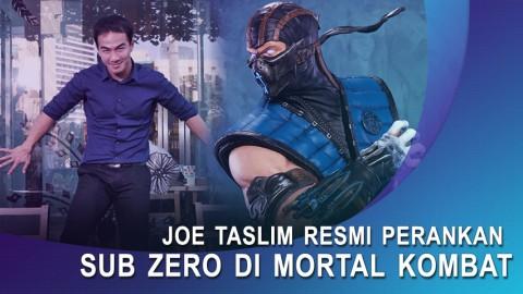 Resmi, Joe Taslim Perankan Sub Zero Di Film Mortal Kombat