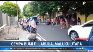 Gempa 7,2 SR Guncang Labuha Malut, Tidak Berpotensi Tsunami