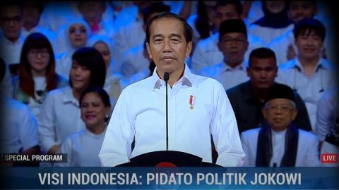 Highlight Visi Indonesia : Pidato Politik Jokowi