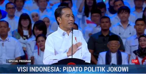 Jokowi: Tidak Ada Toleransi Sedikit Pun Bagi Pengganggu Pancasila!