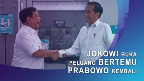 Jokowi Buka Peluang Bertemu Prabowo Kembali