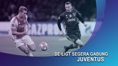 De Ligt Segera Gabung Juventus