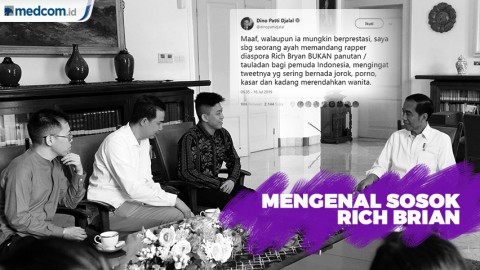 Rich Brian, Diundang Jokowi Dikritik Dino