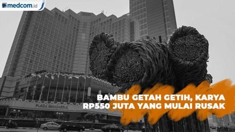 Bambu Getah Getih, Karya Rp550 Juta yang Mulai Rusak