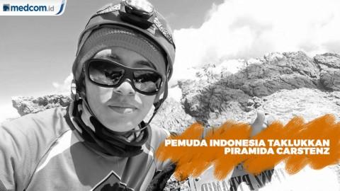 Carstenz Engka Pemuda Indonesia Penakluk Piramida Carstensz