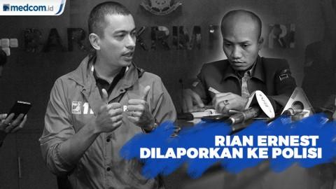 Buntut Kasus Dugaan Politik Uang, Rian Ernest Dilaporkan