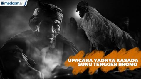 Serunya Upacara Yadnya Kasada Suku Tengger Bromo