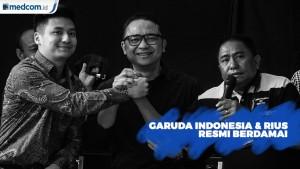 Garuda Indonesia dan Rius Vernandes Resmi Berdamai