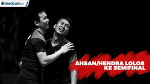 Ahsan/Hendra Raih Tiket Semifinal Indonesia Open