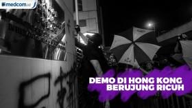 Demo di Hong Kong Berujung Ricuh
