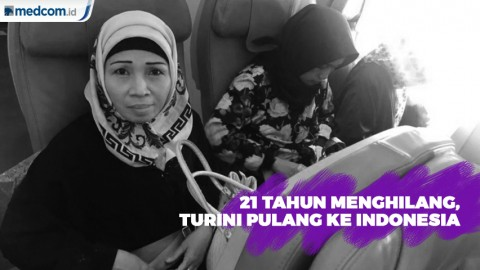 21 Tahun menghilang, Turini Pulang ke Indonesia