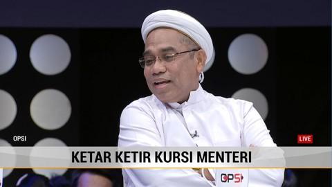 Ali Mochtar: Tak Hanya Cakap, Menteri Juga Harus Bisa Membela Presiden