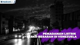 Pemadaman Listrik Besar-besaran, Venezuela Kembali Gelap