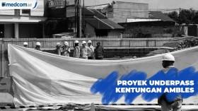 Underpass Kentungan Yogyakarta Ambles