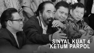 Highlight Primetime News - Sinyal Kuat 4 Ketum Parpol Koalisi Jokowi