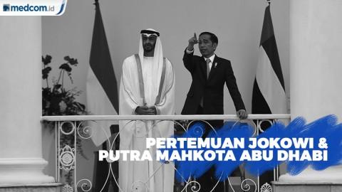 Pertemuan Jokowi dengan Putra Mahkota Abu Dhabi