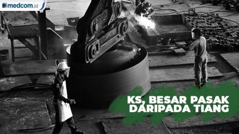 Krakatau Steel, Besar Pasak Daripada Tiang
