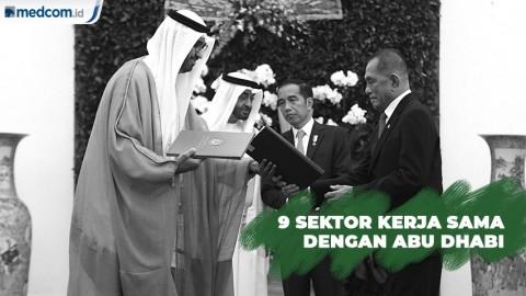 9 Sektor Kerja Sama Pemerintah dengan Abu Dhabi
