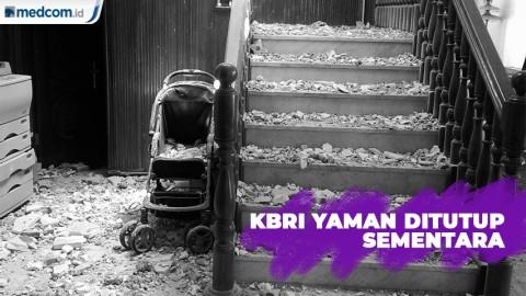 Konflik Berkepanjangan, KBRI Yaman Ditutup Sementara