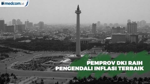 Pemprov DKI Raih Pengendali Inflasi Terbaik se-Jawa Bali
