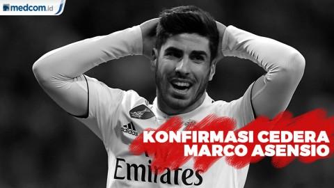 Real Madrid Konfirmasi Cedera Marco Asensio