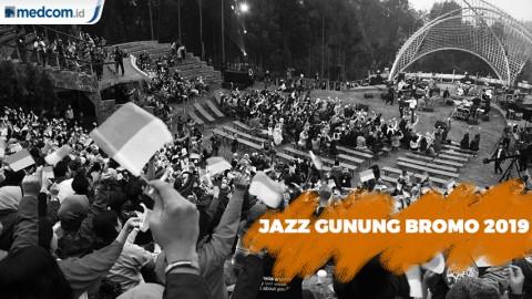 Sederet Musisi Siap Meriahkan Jazz Gunung Bromo 2019