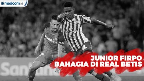 Diminati Barca, Junior Firpo Bahagia di Real Betis