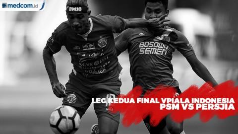 Sempat Ditunda, Laga PSM vs Persija digelar 6 Agustus