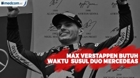 Max Verstappen Butuh Waktu Untuk Susul Hamilton dan Bottas
